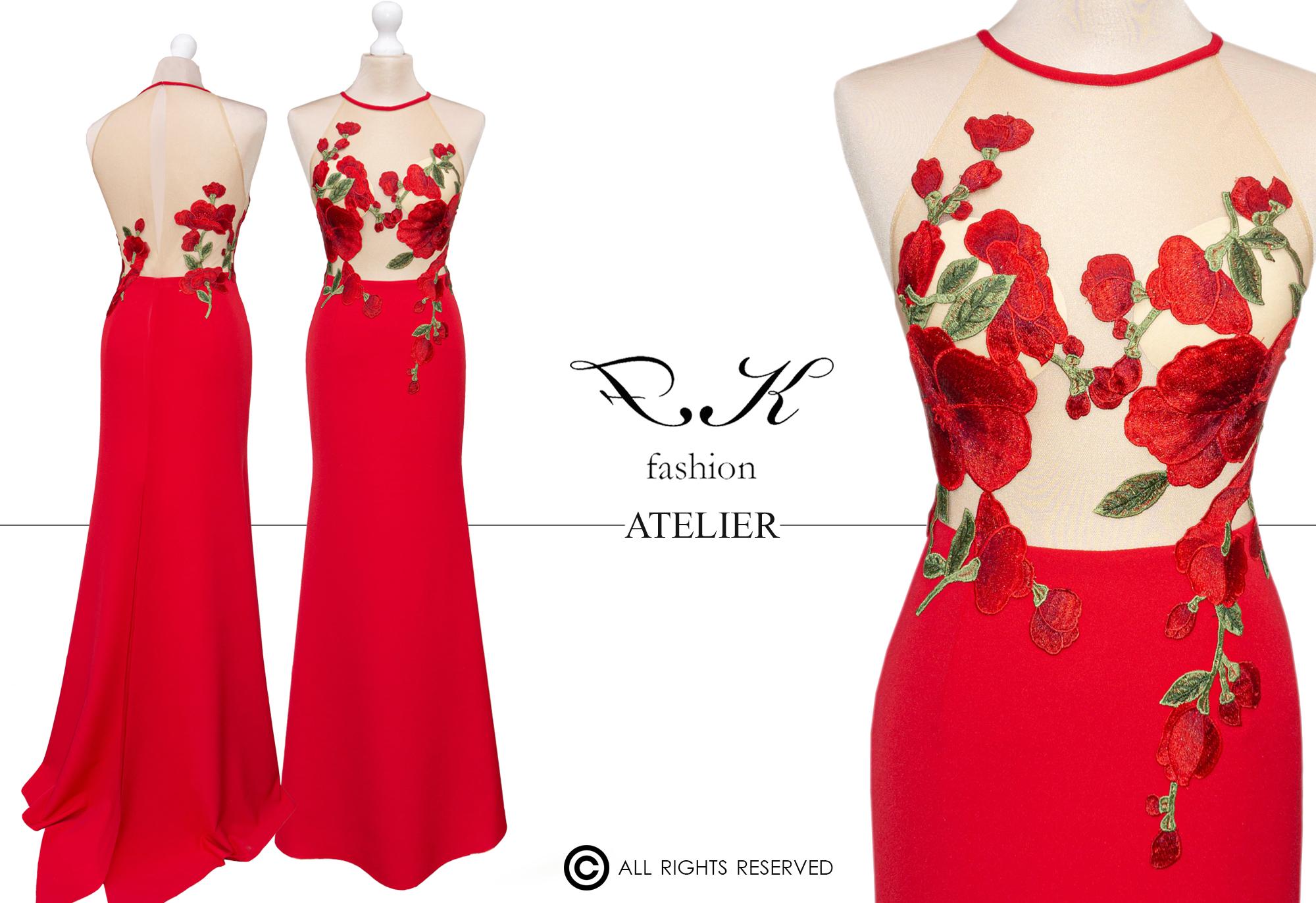 Illusion-dress-piros-tervezői-alkalmi-ruha-2020-FKfashion